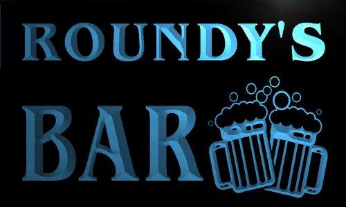 w012805-b-roundy-name-home-bar-pub-beer-mugs-cheers-neon-light-sign