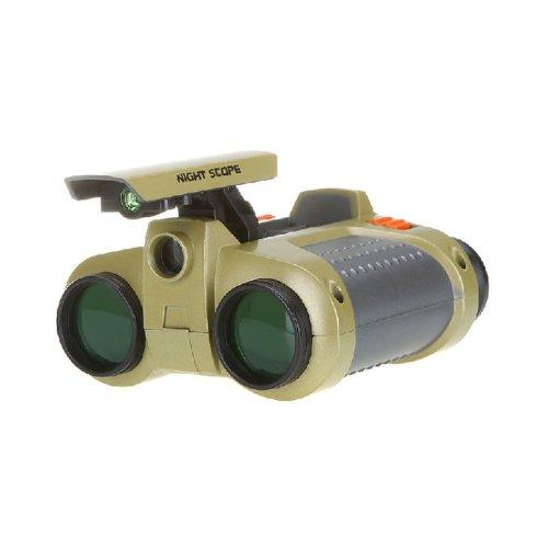 4 X 30Mm Night Vision Surveillance Scope Binoculars Telescopes With Pop-Up Light