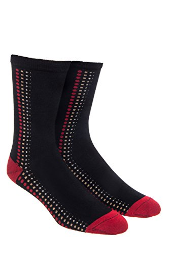 Wolverine Men'S Polka Dot Crew Sock