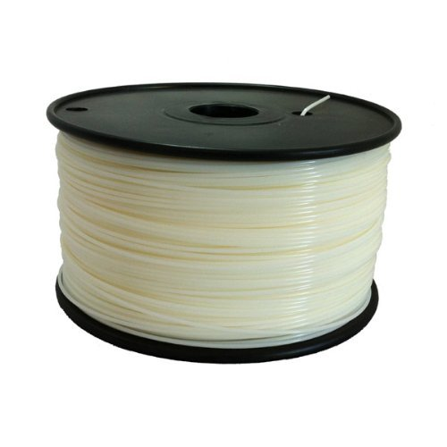 ABS 1.75mm Natural, 1Kg on Spool for Reprap, Mendel, Darwin, MakerBot, RapMan and other 3D Printers