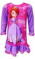 "Disney Sofia the First ""Princess"" Lavender Toddler Nightgown Pajamas"