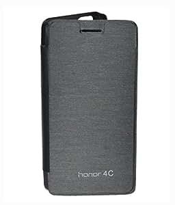 Royal Rusi - Black Flip Cover for Huawei Honor 4C
