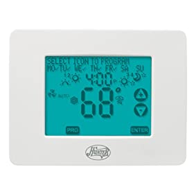 Hunter 44860 7-Day Programmable Touch screen Thermostat