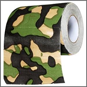 Funny Toilet Paper - Camouflage. Precio: $2.05