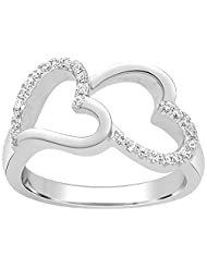 Kama Jewellery 950 Platinum Diamond Ring - B00OAXYKBI