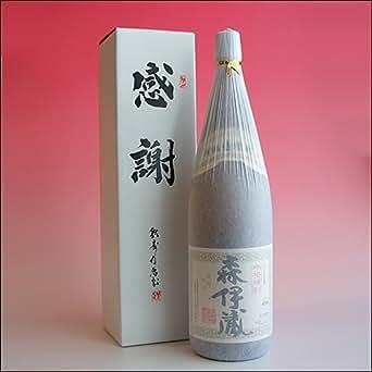 森伊蔵「感謝カートン箱入り」1800ml 一升瓶(鹿児島県 芋焼酎)