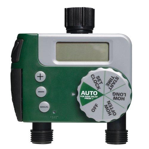 Orbit 56233d 3-outlet digital watering timer garden watering.