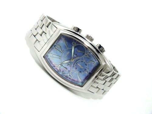 [エルジン]ELGIN クロノグラフ シェル文字盤 腕時計 FK1215S-BL2 文字盤ブルー [並行輸入品]