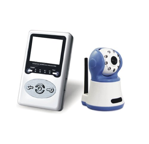 Parent Units Blue Eye Digital Wireless Video Baby Monitor