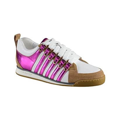 dsquared s multi color suede leather