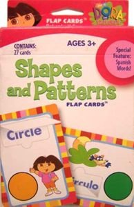 Dora the Explorer Shapes and Patterns Flap Cards by Learning Horizons - 1