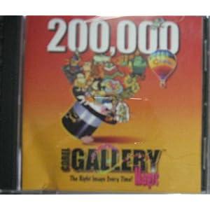 Corel Gallery Magic 200000 (8 cds)