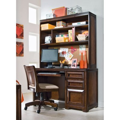 Buy Low Price Comfortable Lea Industries Elite Expressions Computer Desk with Optional Hutch – ADL3185 (B003V798XE)