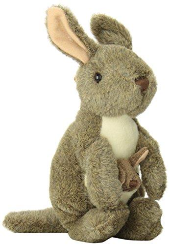 """Wild Republic CK-Mini Kangaroo with Joey 8"""" Animal Plush"""