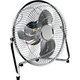 Chrome Tilting Desk Fan - 9 Inch (442508011)