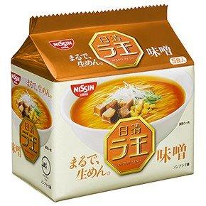 日清 ラ王 袋めん 味噌 1ケース(30個)(5P入×6袋)