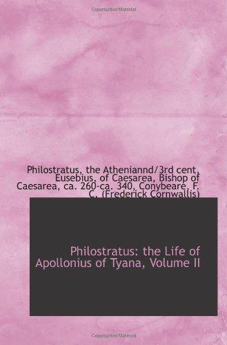 Philostratus: the Life of Apollonius of Tyana, Volume II
