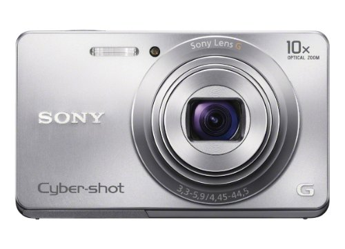 Cheap Price Sony Cyber-shot DSC-W690 16.1 MP Digital Camera with 10x Optical Zoom and 3.0-inch LCD (Silver) (2012 Model)