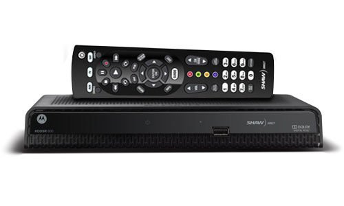 Shaw Direct HD 600 Receiver