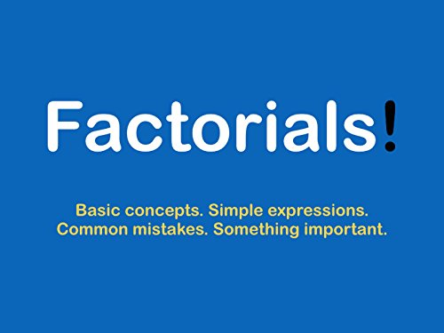 Factorials - Basic Concepts - Season 1