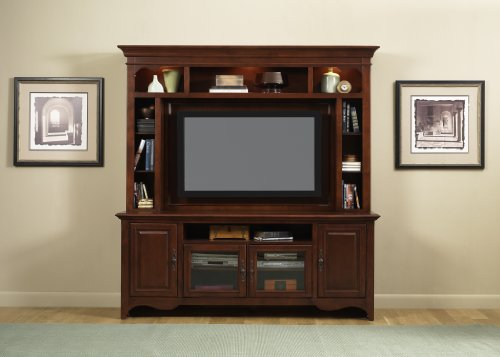 Cheap LIBERTY NEW GENERATION ENTERTAINMENT CENTER TV STAND MOUNTABLE HUTCH MERLOT NEW (840-ENT)