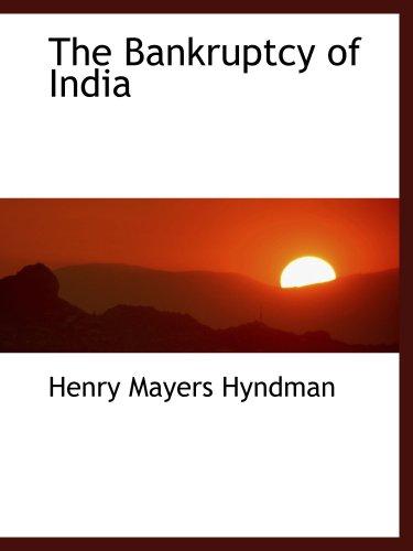 Der Konkurs von Indien