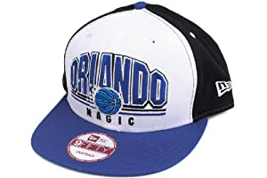 Orlando Magic Black Monolith Snapback Adjustable Hat by New Era
