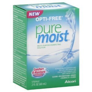 Opti-free Pure Moist Solution, 2 Oz