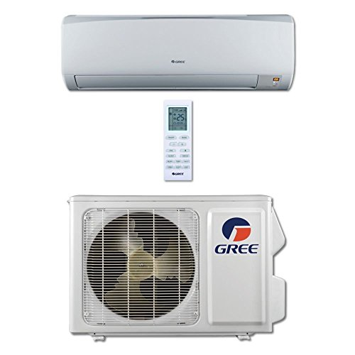 GREE Rio 12,000 BTU Wall Mounted Ductless Mini Split Heat Pump System R410A 115 VAC