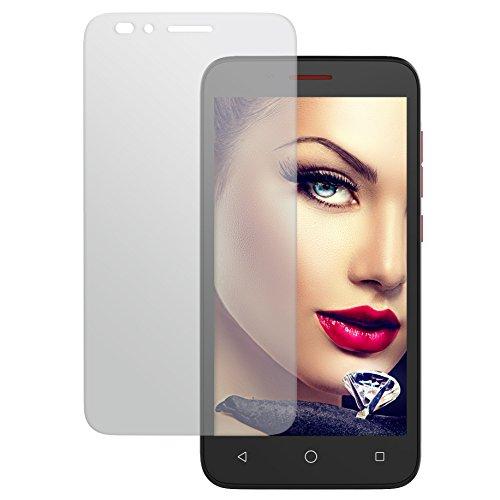 Display Schutzglas aus Tempered Glass für Alcatel One Touch Go Play (7048X, 5.0'') - 9H - 2.5D - Schutzfolie Panzerglas Protector
