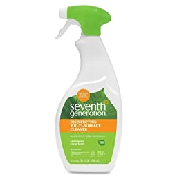 Seventh Generation Multi Surface Disinfectant Cleaner, 26 Ounce (case of 8)