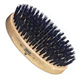 Kent Oval Beachwood with Pure Black Bristle (MG2)