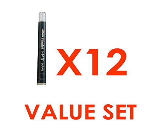 Pentel-Arts Pocket Recharge encre noire/valeur Lot de 12 avec notre boutique origine du produit