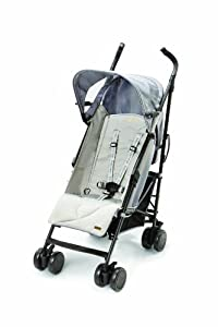 Baby Cargo 200 Series Lightweight Umbrella Stroller, Smoke/Mirror