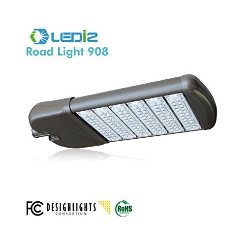 Ledi2 Led Road Light Parking Lot Light Area Light Houston 908, 140W, 5000K, Ac120-277V, Cri:70, Lumen 14,700, 105Lm/W Phillips Driver, 5 Year Limited Warranty
