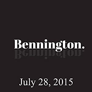 Bennington, Jay Pharoah and Mike Eagle, July 28, 2015 Radio/TV Program