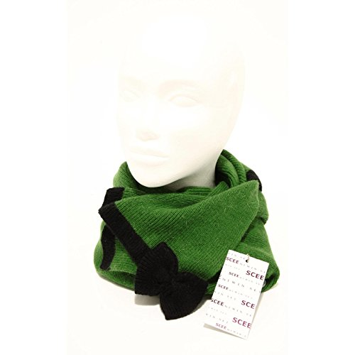 94958 sciarpa SCEE BY TWIN-SET COTONE VISCOSA CACHEMIRE accessori donna scarf wo [UNICA]