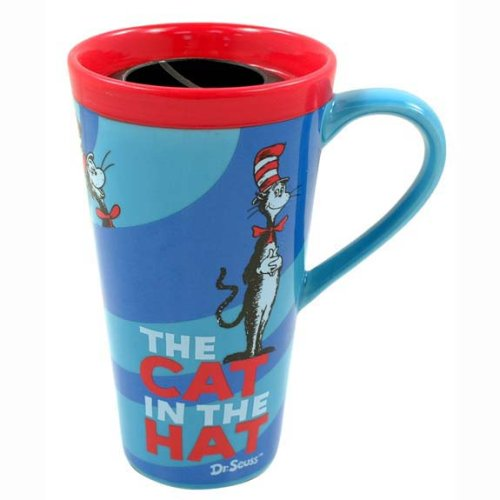 Dr Seuss - Cat In The Hat 14 oz Travel Mug