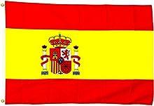 España Bandera/250x 150cm, tamaño grande, impermeable)