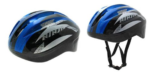 Como Cool Cycling Skateboard Rollerblade Helmet - blue & black
