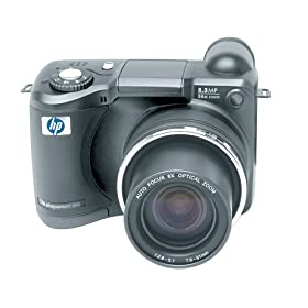 HP PhotoSmart 945 5.3MP Digital Camera w/ 8x Optical Zoom