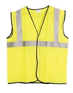 SAS Safety 690-1211 ANSI Class-2 Safety Vest, Yellow, XX-Large