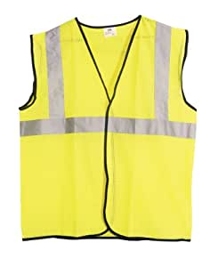 SAS Safety 690-1211 ANSI Class-2 Safety Vest, Yellow, XX-Large