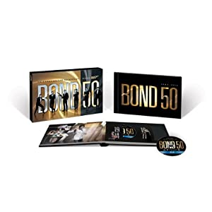 Bond 50: The Complete 22 Film Collection [Blu-ray] $129.99