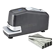 Stanley Bostitch Full Strip Electric Stapler Value Pack with Staples and Push Style Staple Remover, 25 Sheet Capacity (02638)
