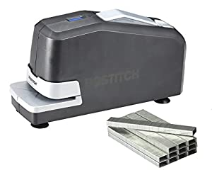 Bostitch Impulse 25 Electric Stapler Value Pack, Staples and Staple Remover, Black (02638)