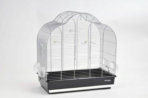Bird Dream Vogelkäfig Catryn Free Gitter chromfarben-