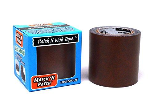 match-n-patch-realistische-braun-leder-reparatur-klebeband