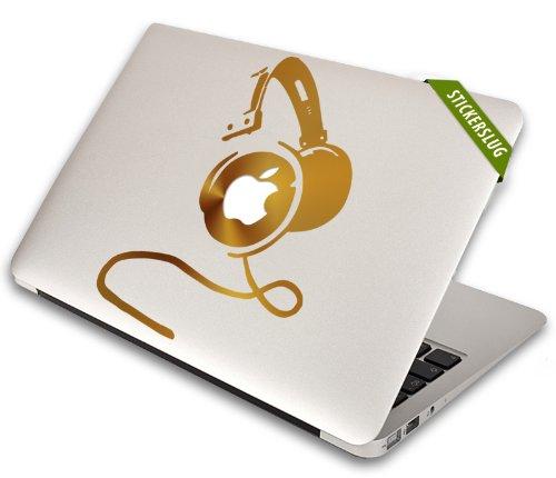 Dj Headphones Decal For Apple Macbook Air Pro