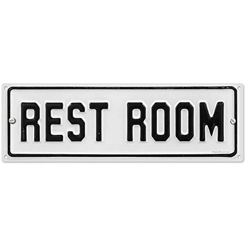 Amazoncom vintage bathroom signs